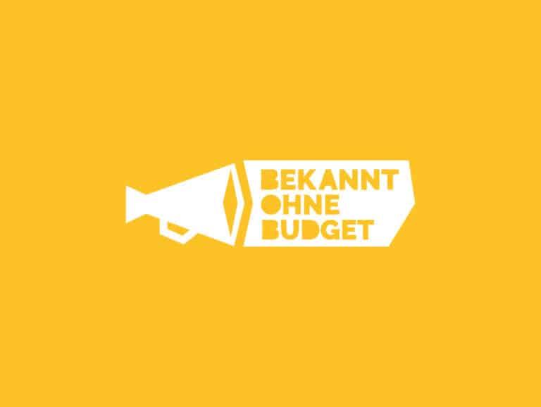 Bekannt Ohne Budget